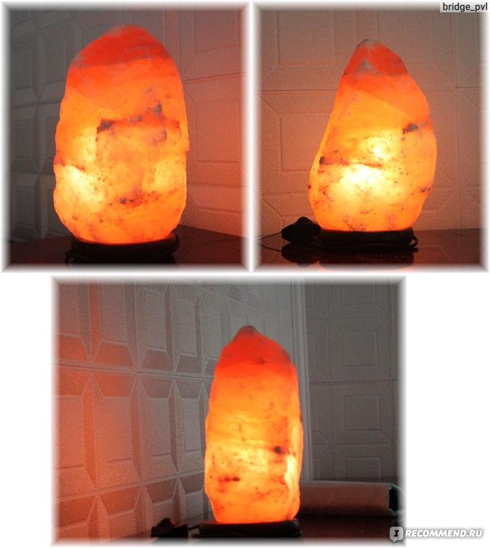 Солевая лампа в домашних условиях