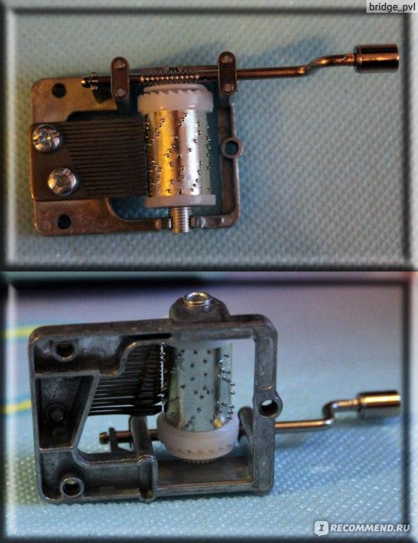 Как сделать механизм музыкальной шкатулки своими руками 56