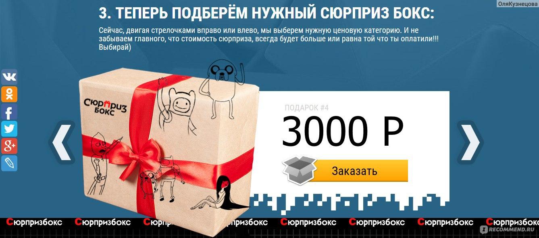 Сайт сюрприз бокс подарки 74