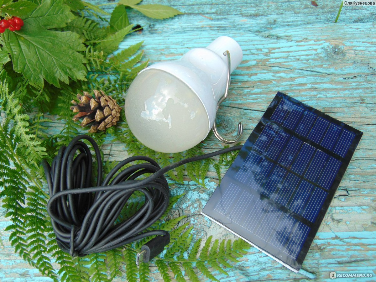 Фонарь солнечных батареях своими руками
