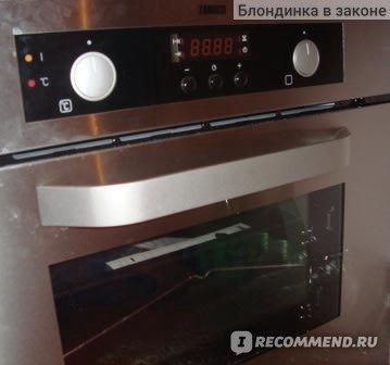 Электрический духовой шкаф Zanussi