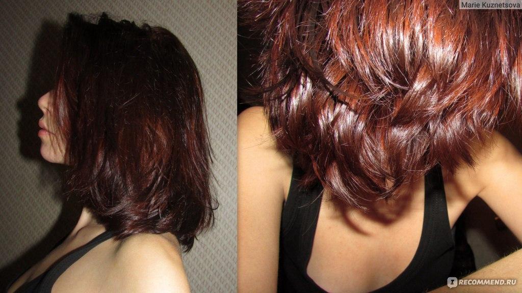 Окраска волос коричневой хной