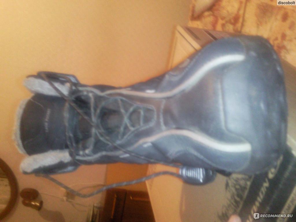 Зимние ботинки Salomon B52 TS GTX W - «Очень тёплые ботинки ... b5e2e2c71a851