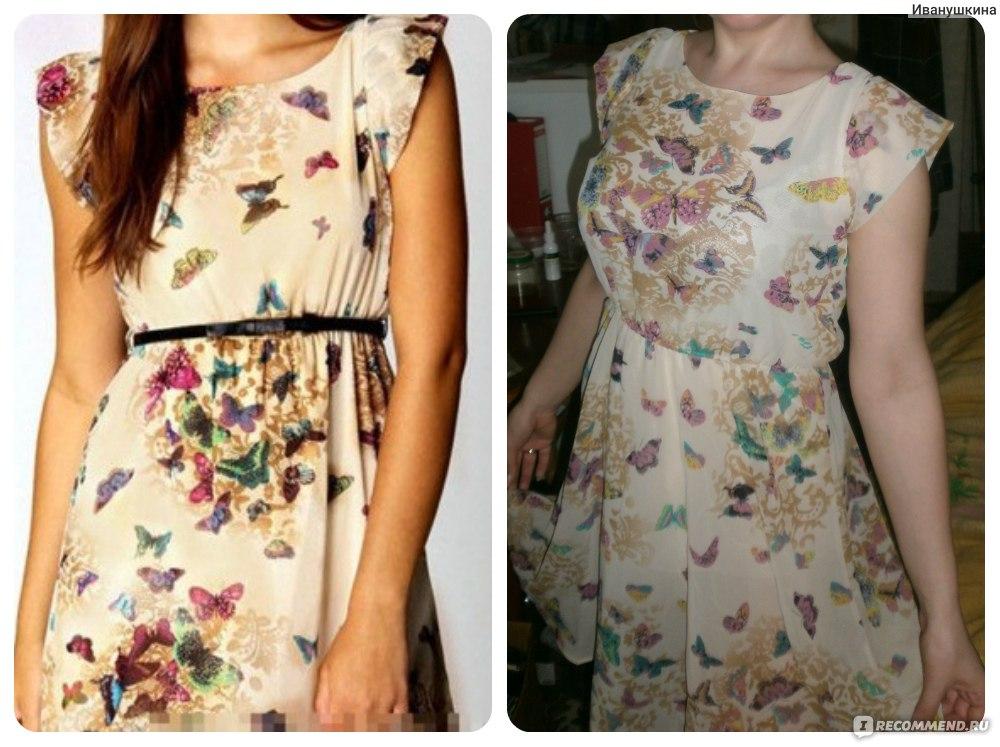 Линялое платье