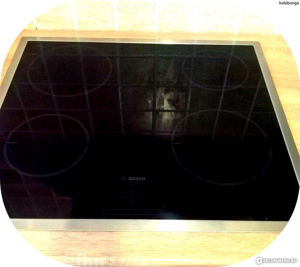 bosch- печь индкуционная инструкция по использованию