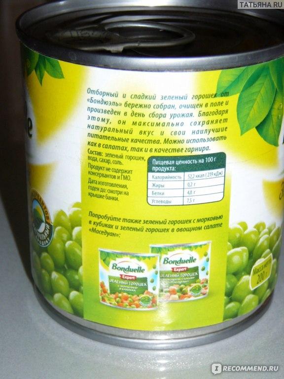 Зеленый горошек консервированный в домашних условиях рецепты