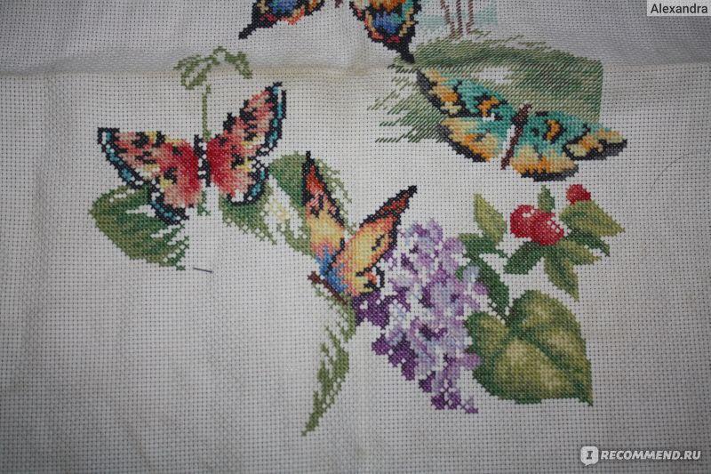 Лес бабочек схема вышивки 53
