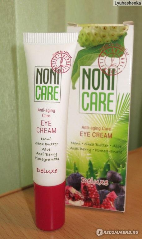 Омолаживающий для контура глаз крем noni care ( 40+) - \