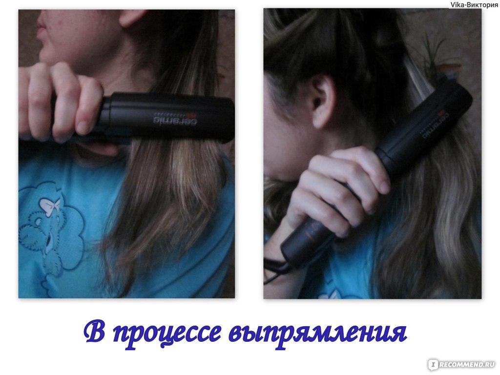 Как сделать прямым волос без утюжка для волос