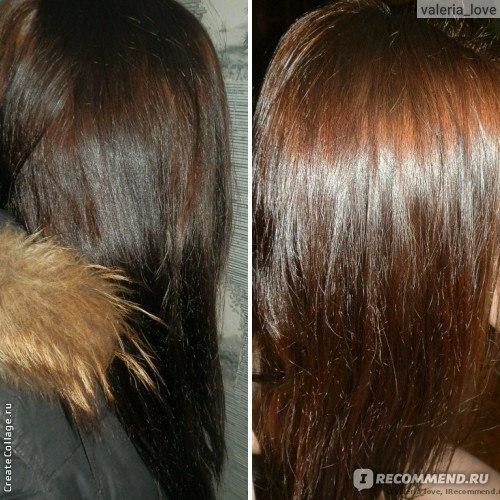 репейное масло для смывки краски с волос до и после фото