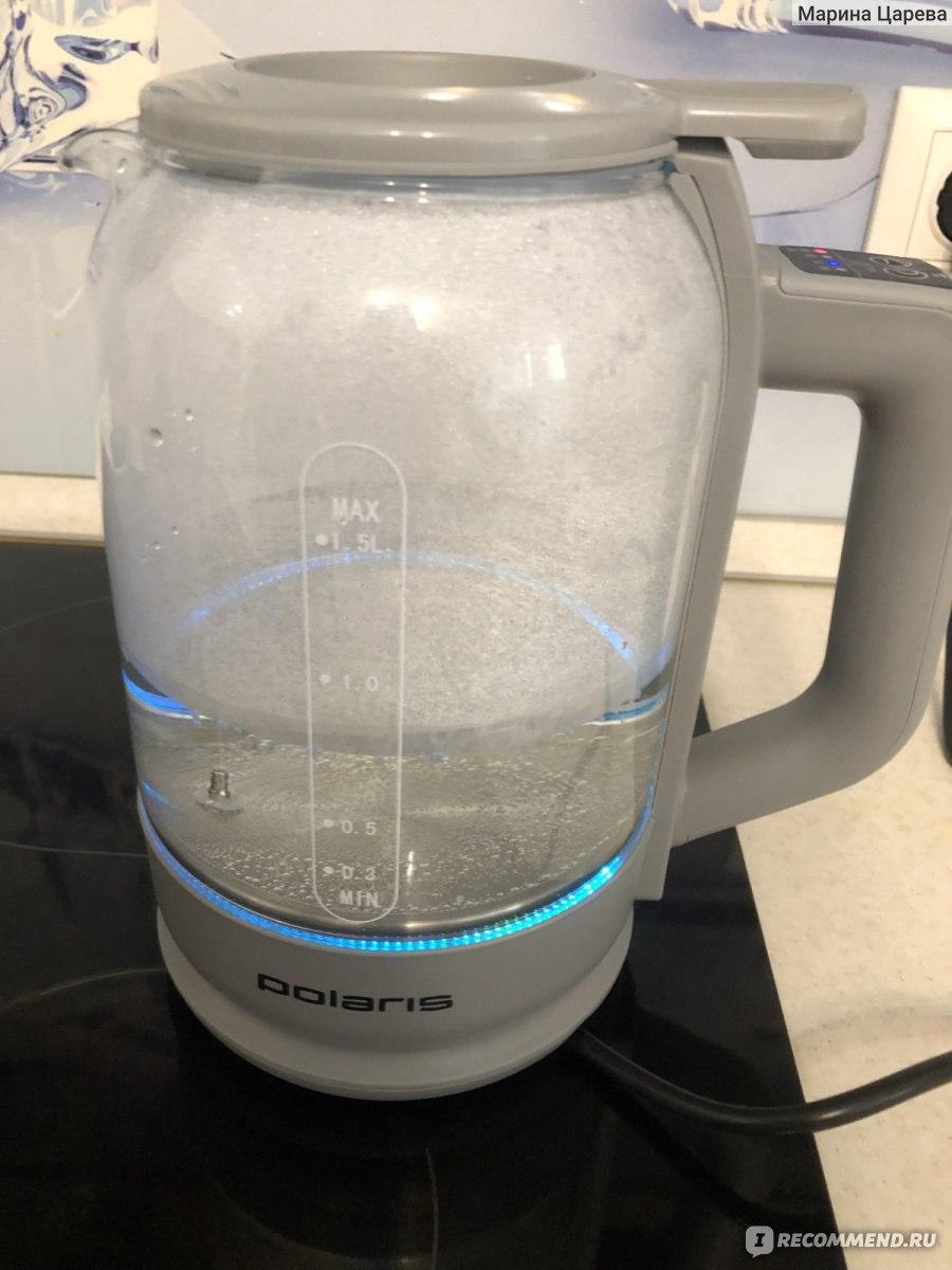 Электрический чайник Polaris PWK 1720CGLD WIFI IQ Home фото