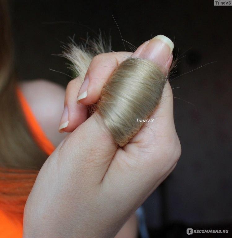 Секущиеся концы волос в домашних условиях