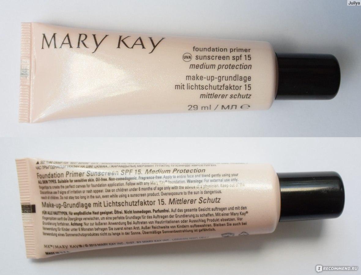 Мэри кэй основа под макияж фото
