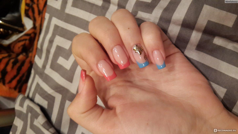 сколько времени занимает наращивание ногтей гелем получай кредиты за покупки в магазине вф