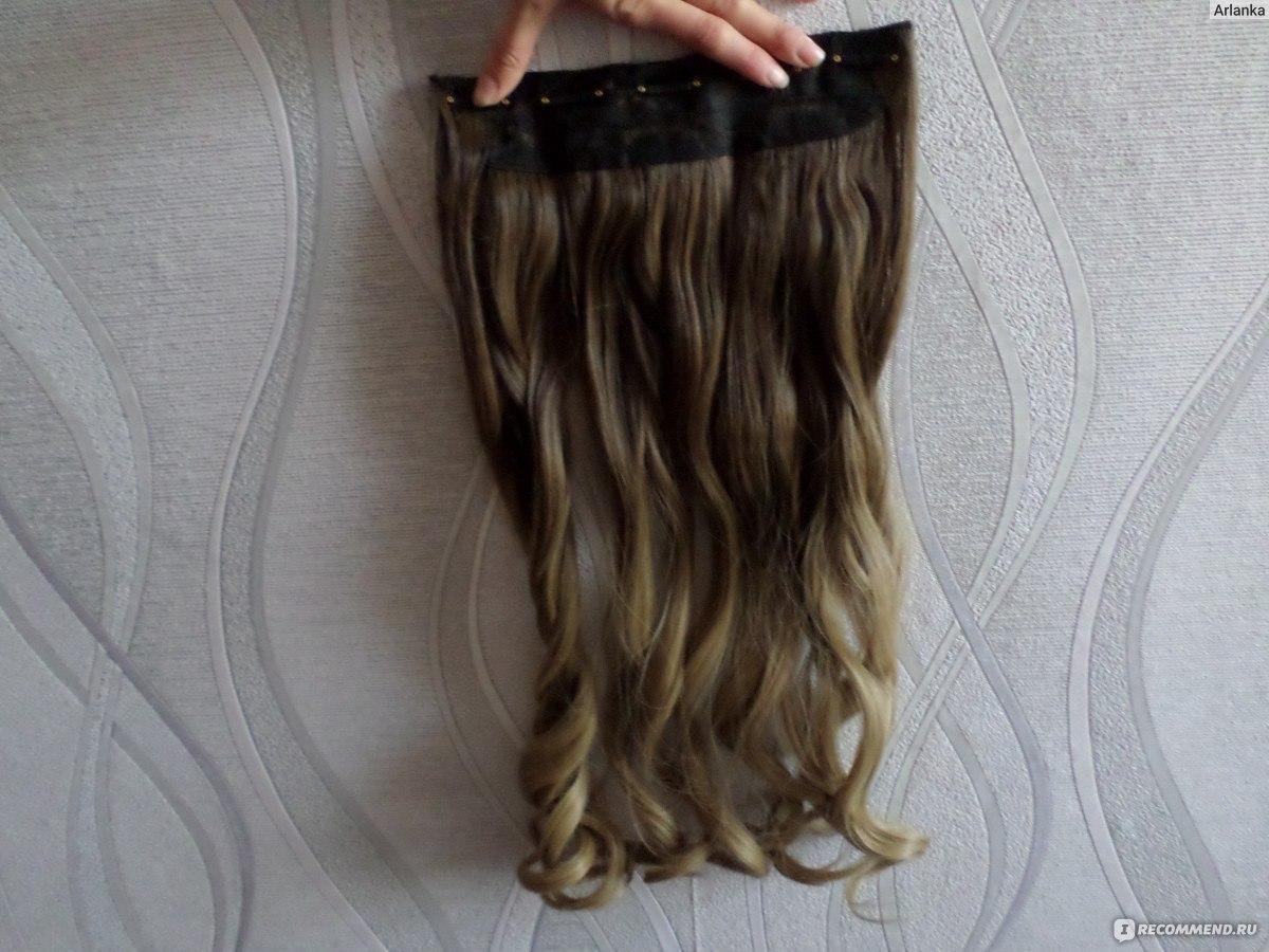 как крепить волосы с алиэкспресс видео