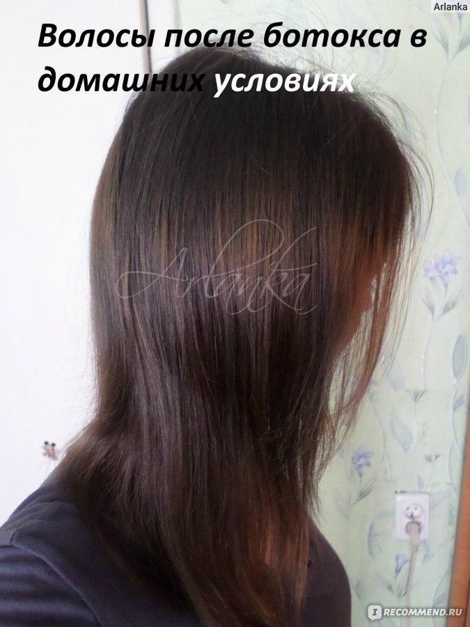 Ботокс волос в домашних условиях рецепты