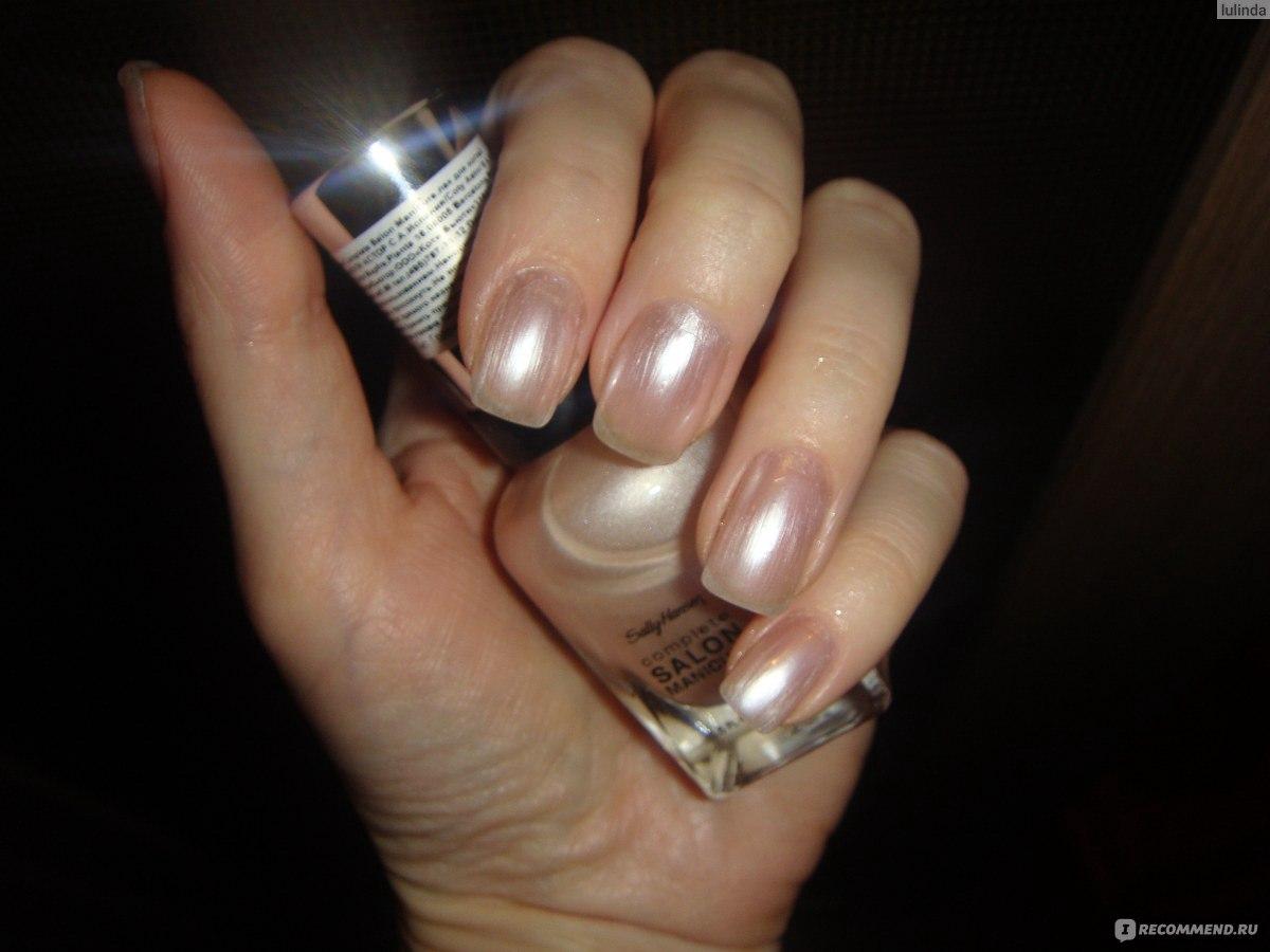 Лак для ногтей sally hansen salon manicure 135