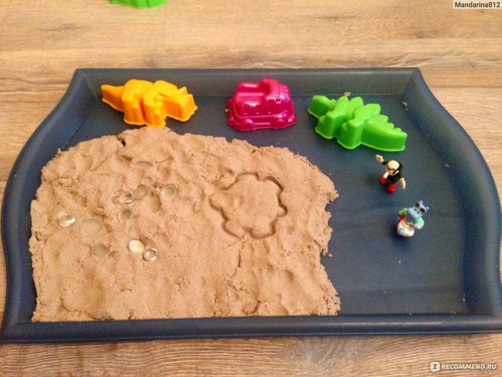 Поделки из кинетического песка фото 32