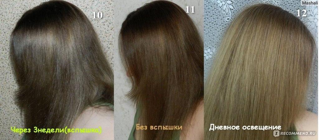 7.1 эстель делюкс фото на волосах