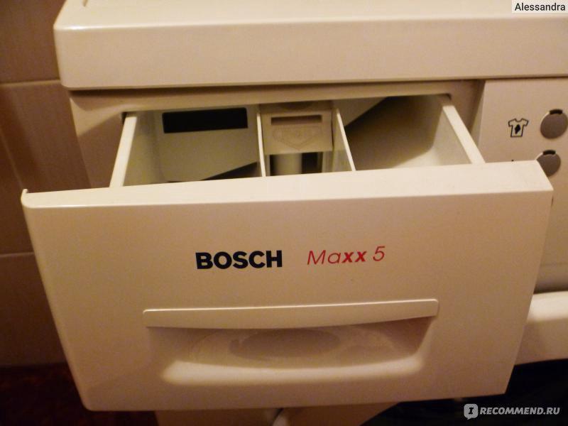 Bosch Maxx 5 Wlx 16160 Oe Инструкция - фото 9