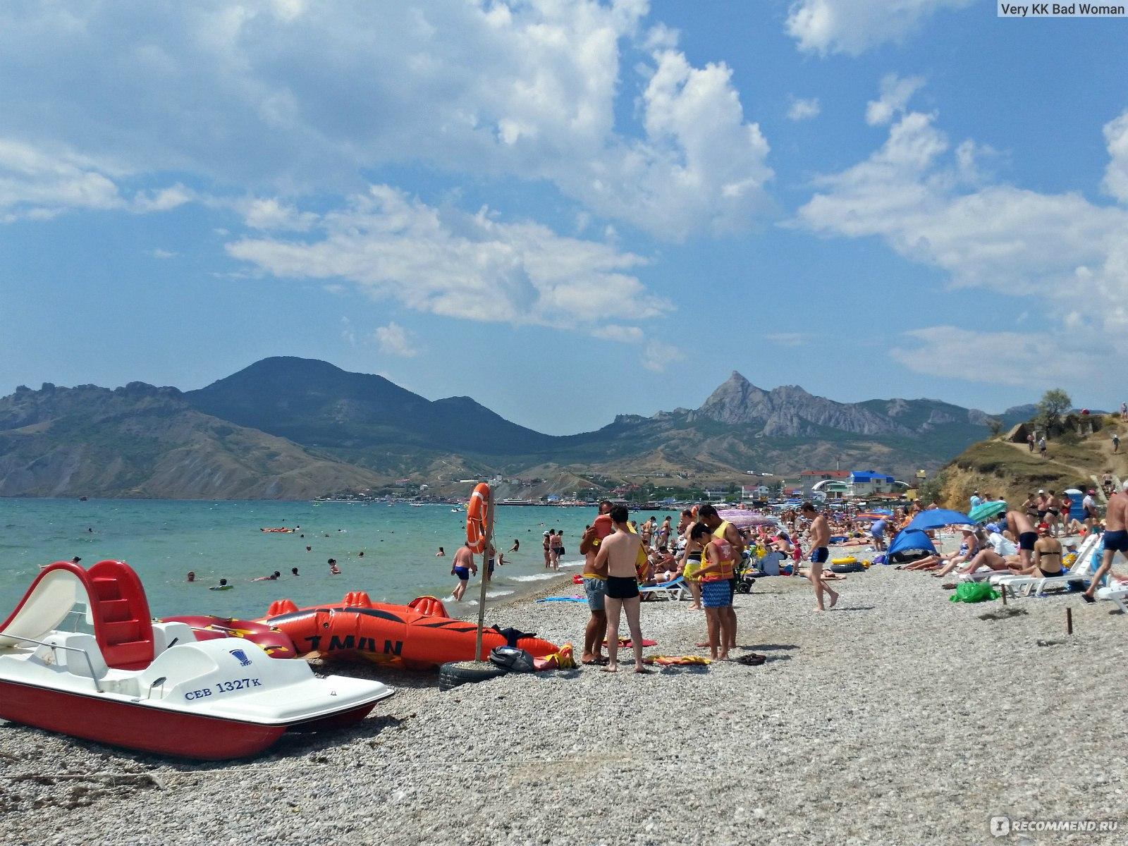 короткой мальтийский пляж коктебель фото одном