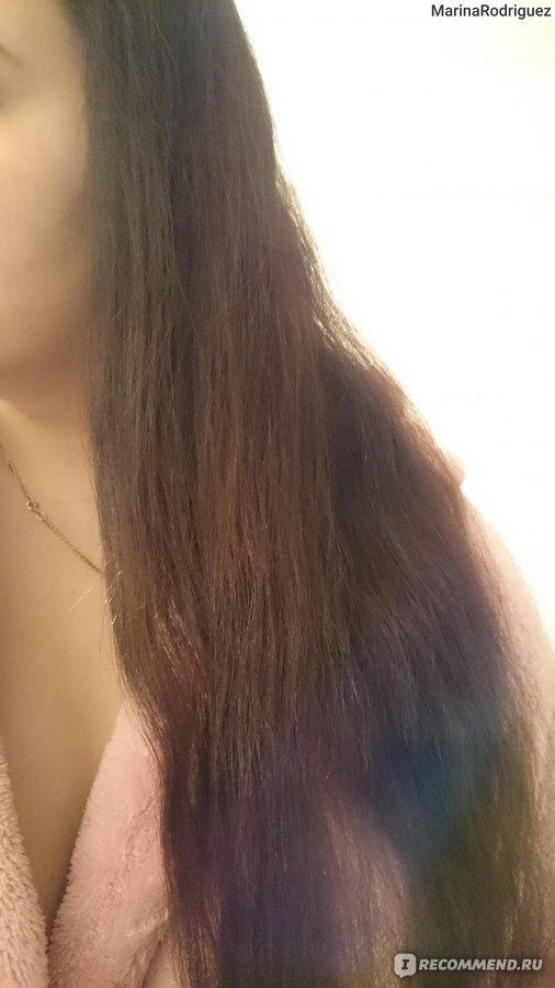 убрать рыжину на темных волосах