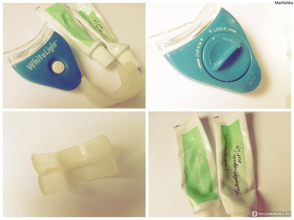 домашнее отбеливание зубов стоматология