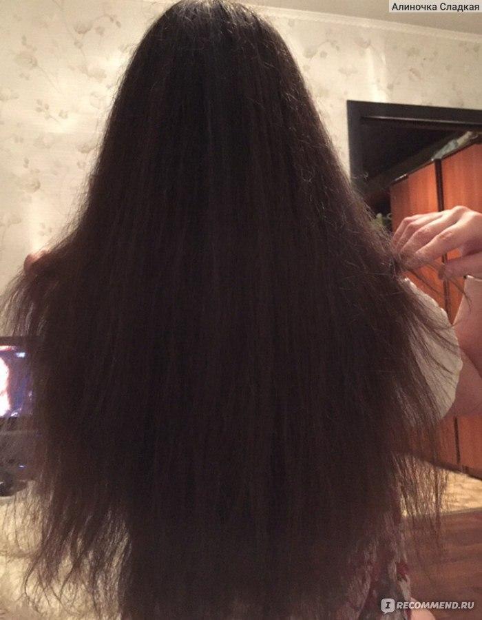 Волосы обломанные торчат