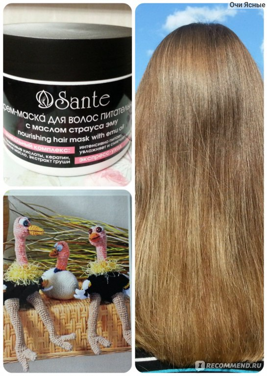 Маски для волос для восстановления структуры волоса