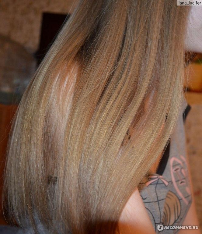 Желток сушит волос