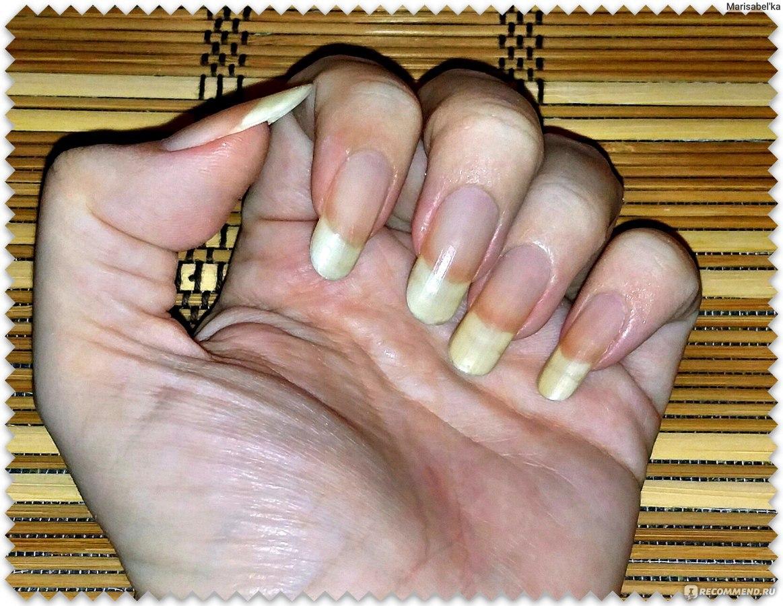 Как укрепить ногти в домашних условиях с солью и 718