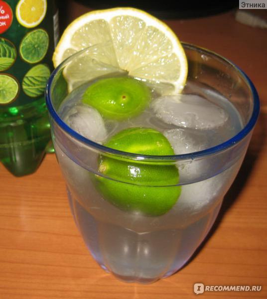 рецепт лаймон фреш напиток