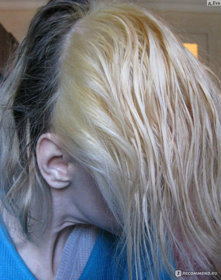 Окрашивание волос в блонд эстель