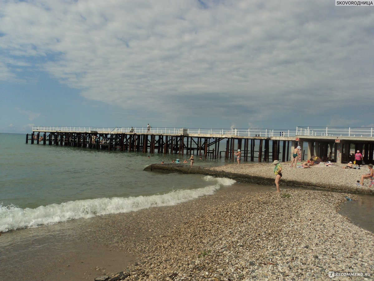 Пляж нового афона фото