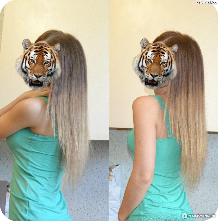 Как сделать растяжку цвета на волосах