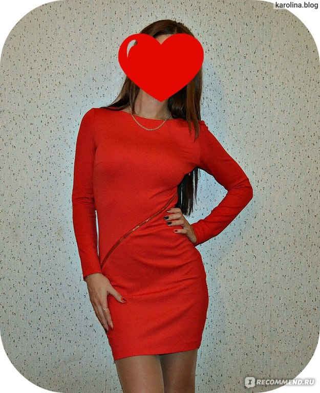 Черно Красное Платье Доставка