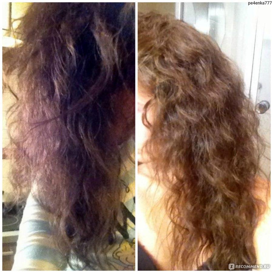 Маска для волос в домашних условиях выпрямление