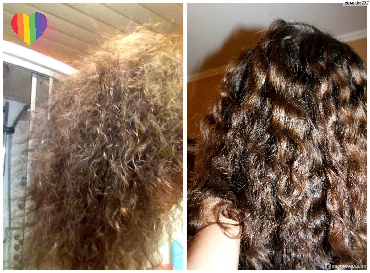 Как сделать чтоб волосы не были кудрявыми