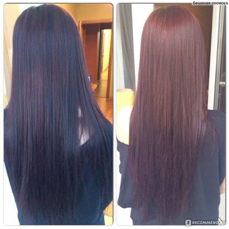 Черный цвет волос осветлить волосы в домашних условиях