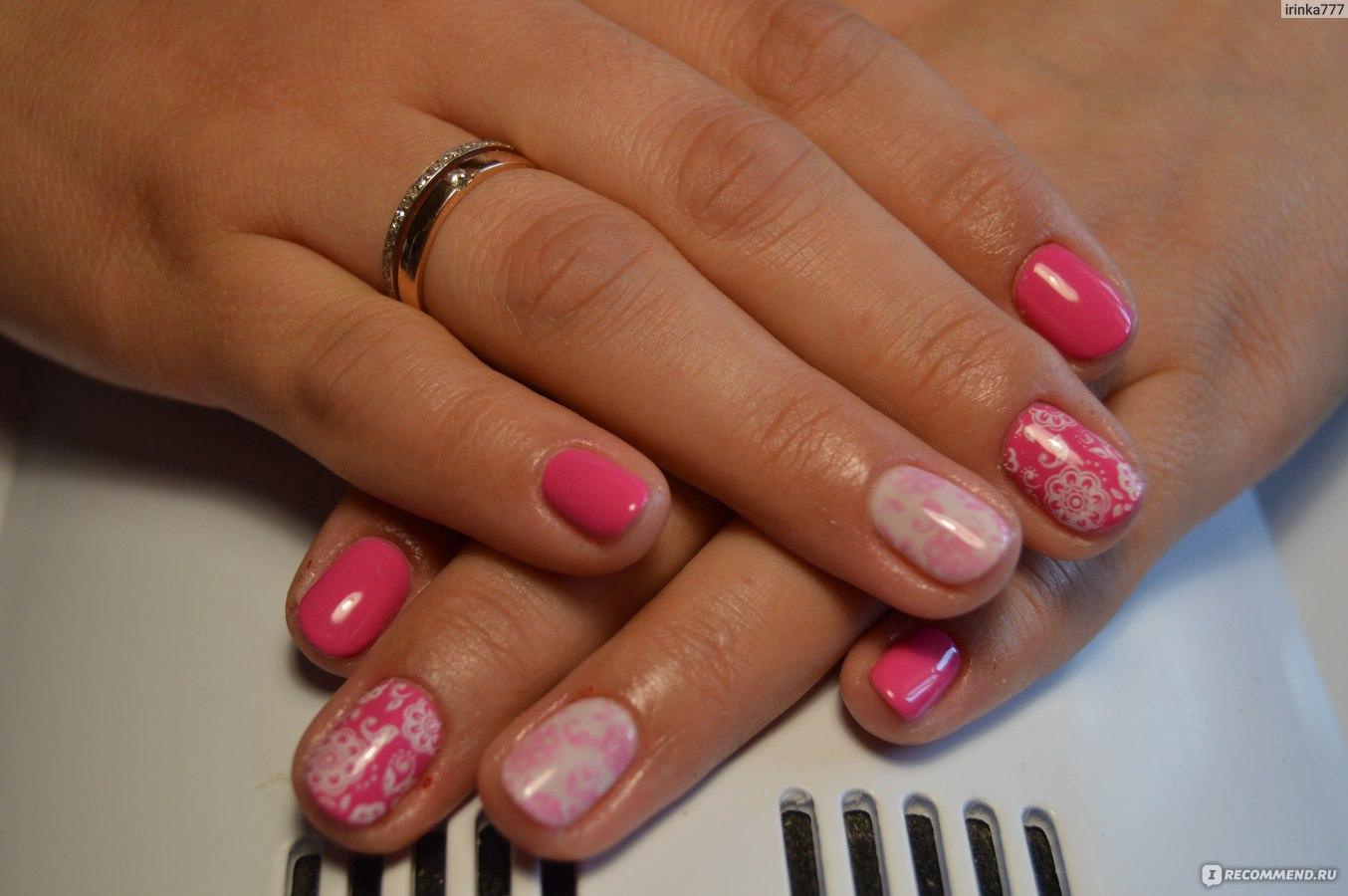Фото шеллак для ногтей