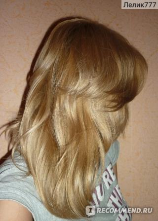 Вероника как затемнить волосы блондинке без краски область