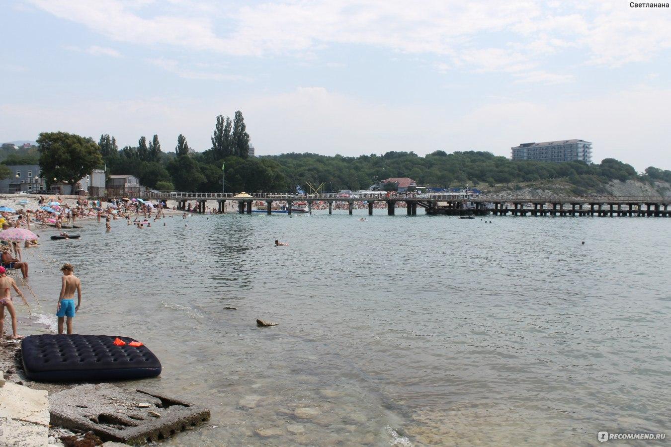 Геленджик санаторий голубая бухта фото пляжа и поселка