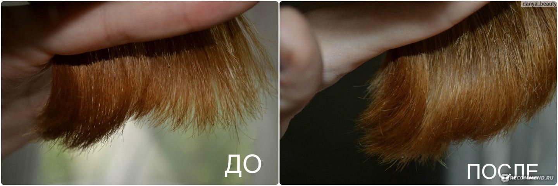 Посеченные кончики волос лечение