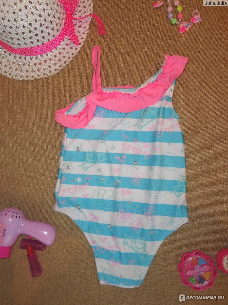 1e2e6aedb Купальник AliExpress 2016 baby Girls Kids one piece swimwear Children  Cartoon Swimsuit Swimwear 2-7Y