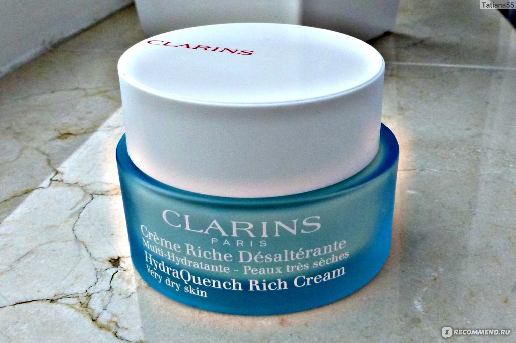 clarins hydraquench cream normal to dry skin clarins creme riche desalterante. Black Bedroom Furniture Sets. Home Design Ideas