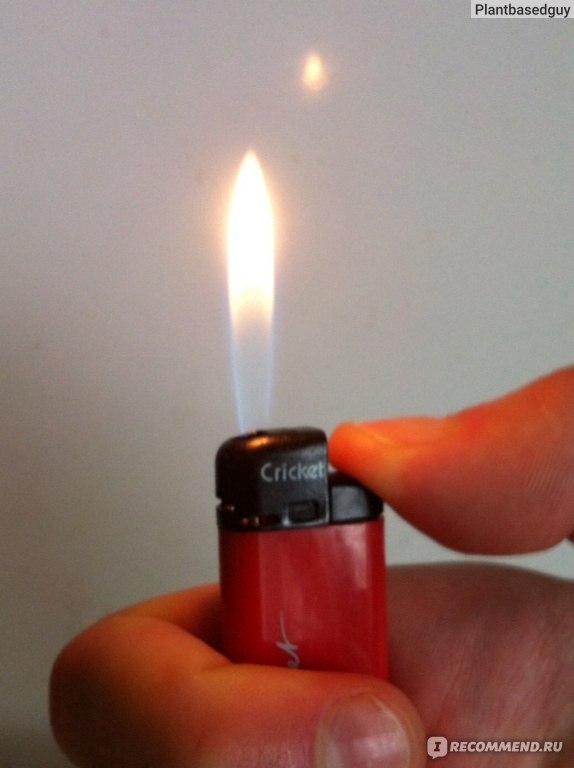 Как сделать в зажигалке пламя