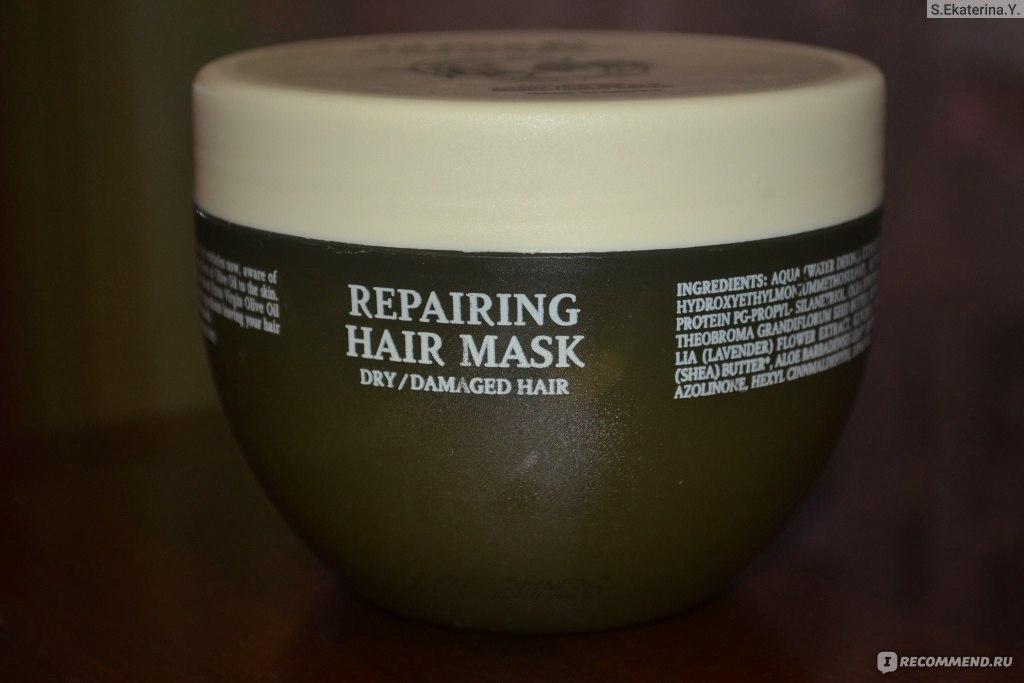 """Маска для волос Olivolio Repairing hair mask - """"Не очень хорошая маска для волос, тем более для сухих и повреждённых, так как не"""