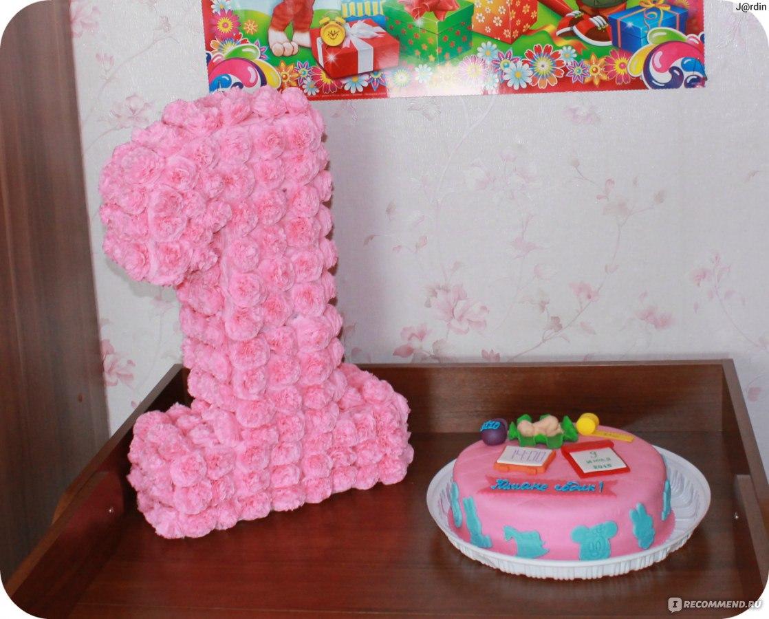Изготовление объемных цифр на день рождения своими руками 68