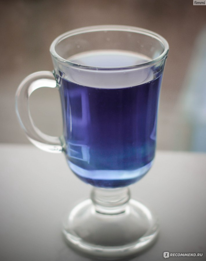 голубой чай из тайланда купить