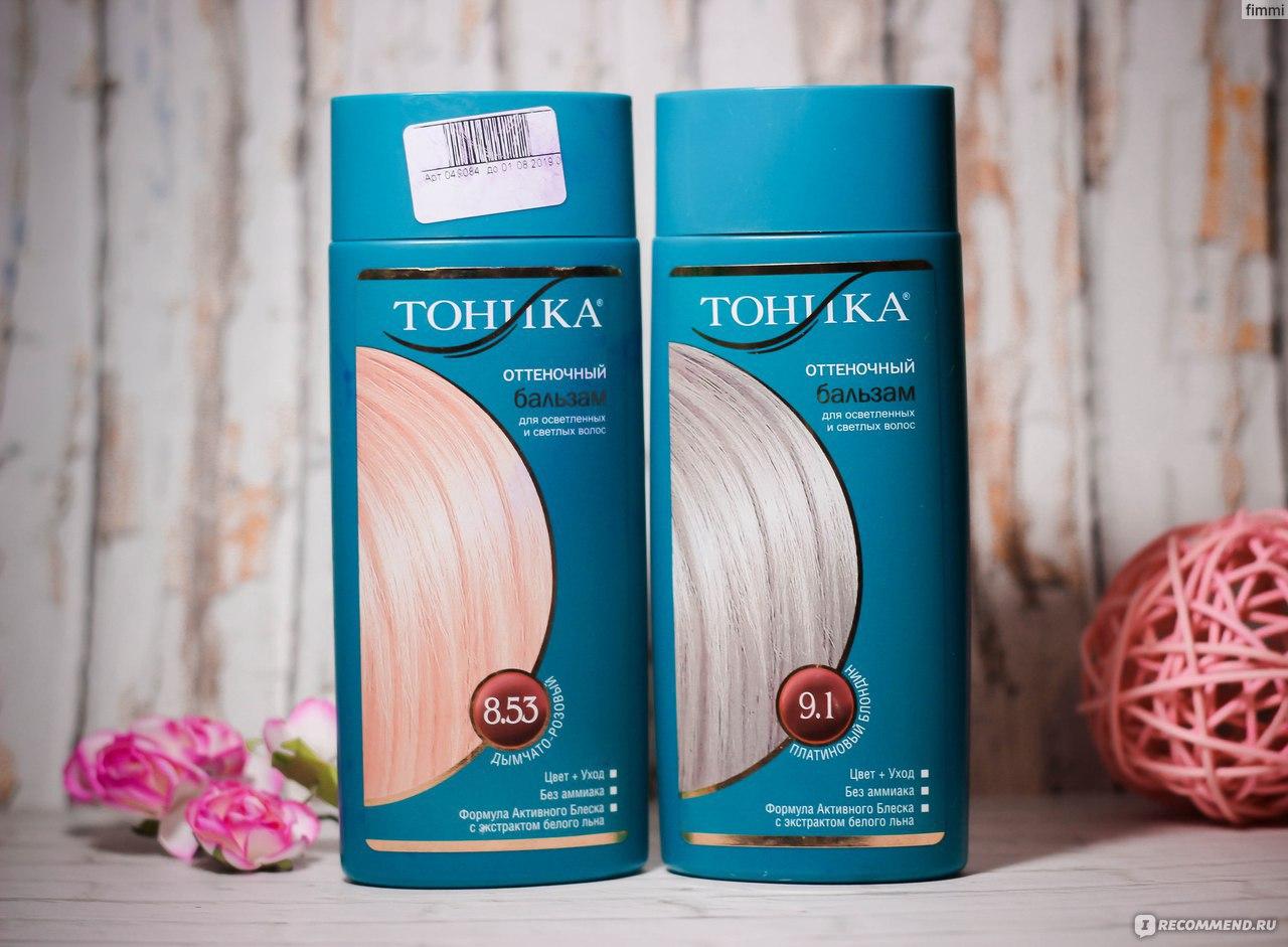 Окрашивающий тоник для волос своими руками